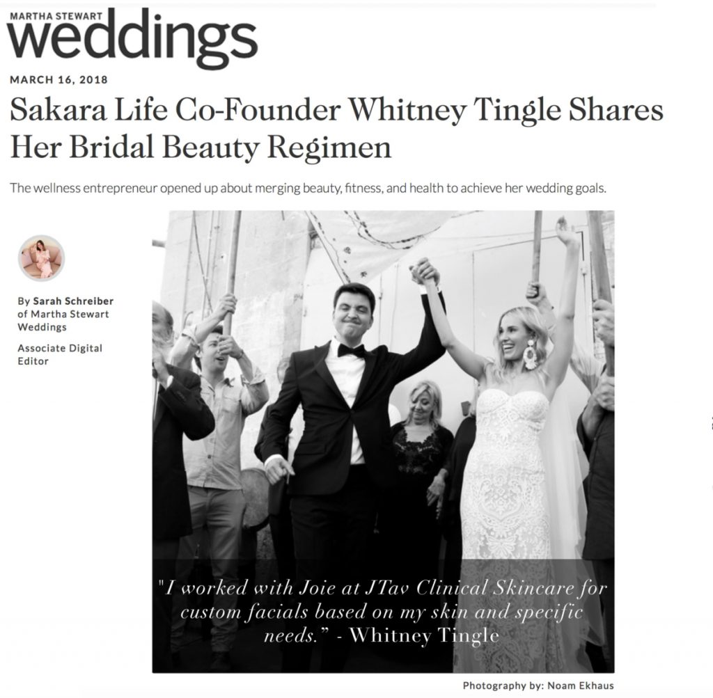 Martha Stewart Weddings article