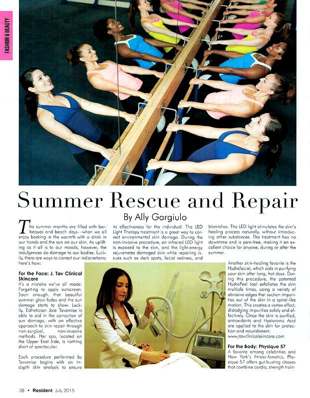 Summer Rescue and Repair article