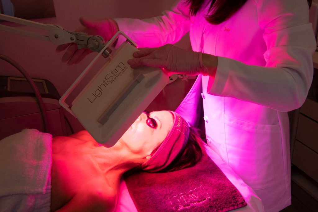 LED treatments at JTAV